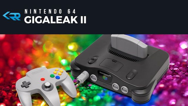 Gigaleak 2 Electric Boogaloo - N64 Source Code Leak