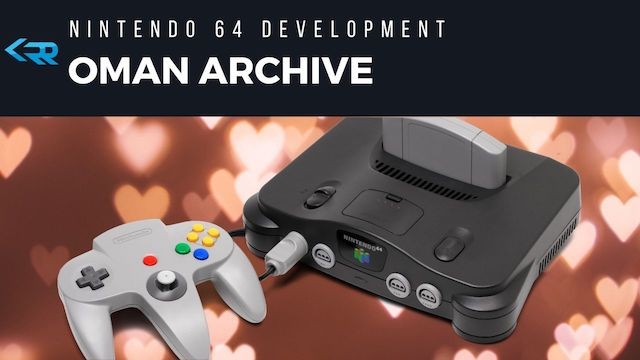 Oman Archive - N64 Leak by SGI employee