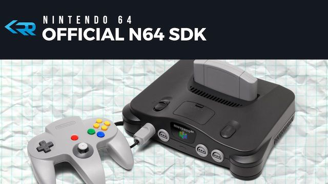 Official Nintendo 64 SDK