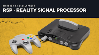 N64 RSP - Reality Signal Processor