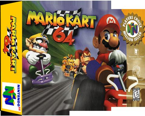 Mario Kart 64 Retroreversing