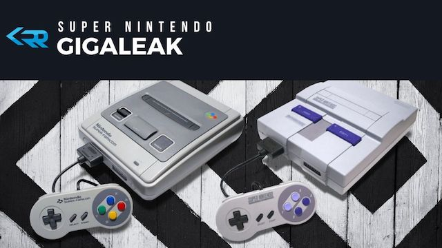 Gigaleak - SNES Source Code Leak