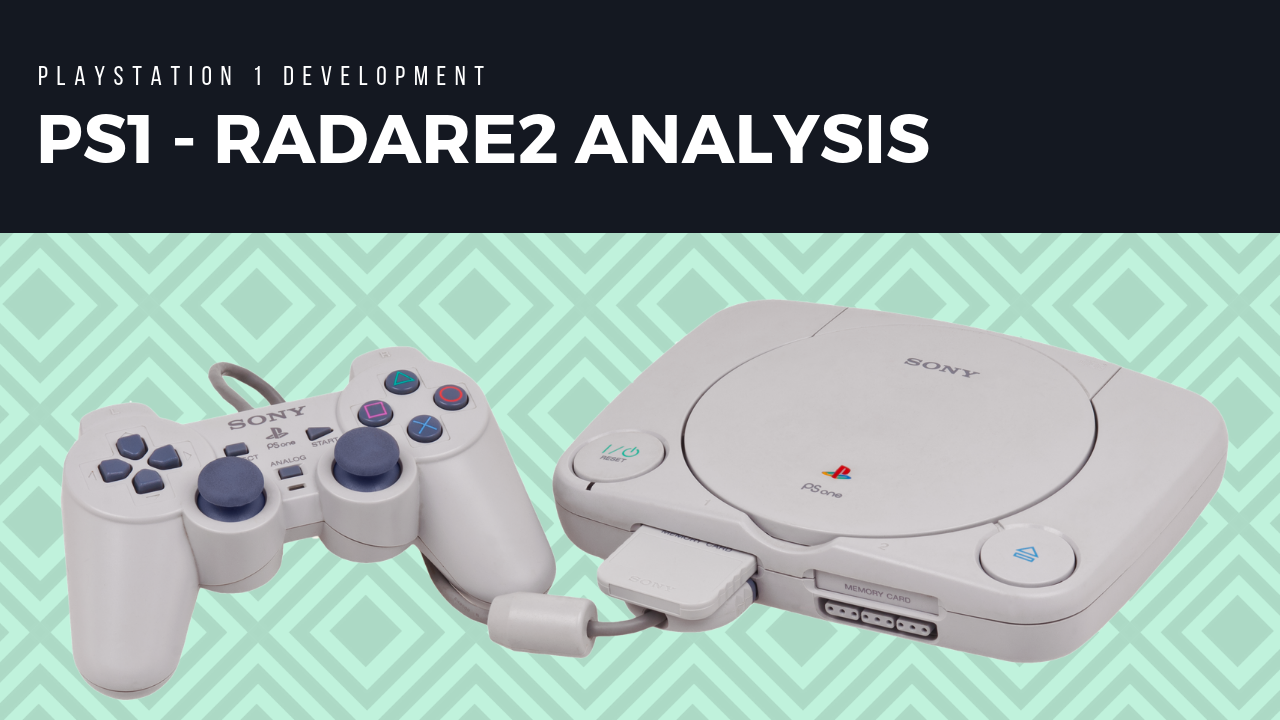 PSX Analysis with Radare2