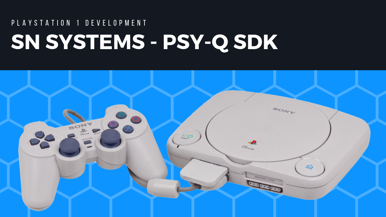 Official Playstation 1 Software Development Kit (PSYQ)
