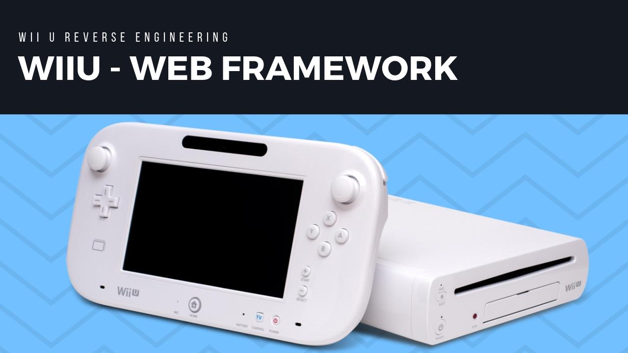 Wii U File Formats · RetroReversing